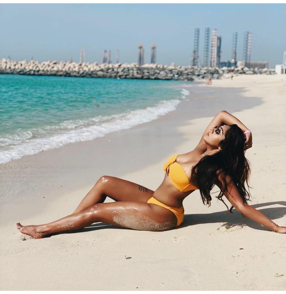 Hot bikini shoot of Agnijita