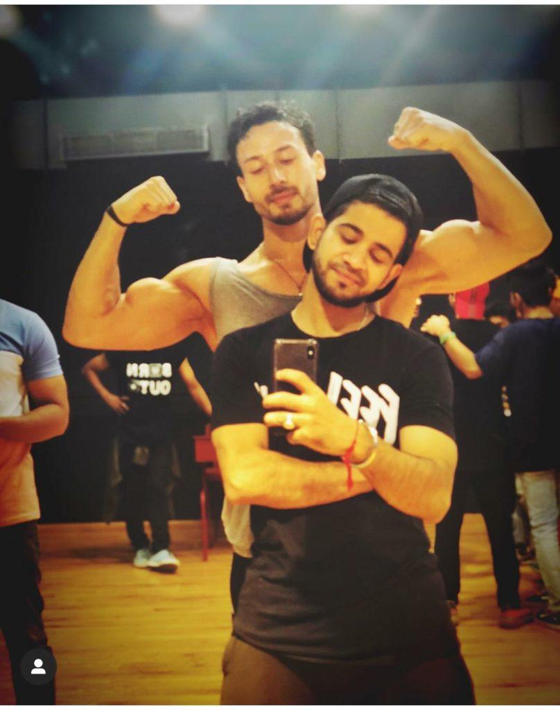 tiger shroff with rahul