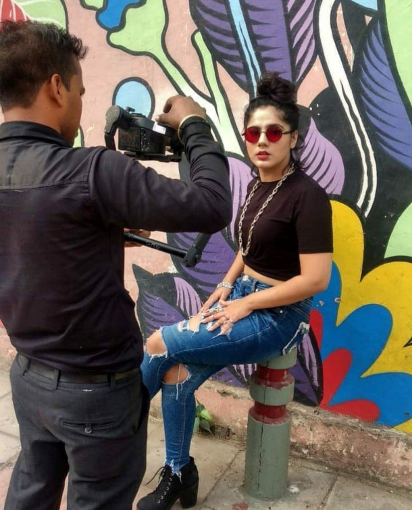 Rapper Agrita Dhawan (Agsy)