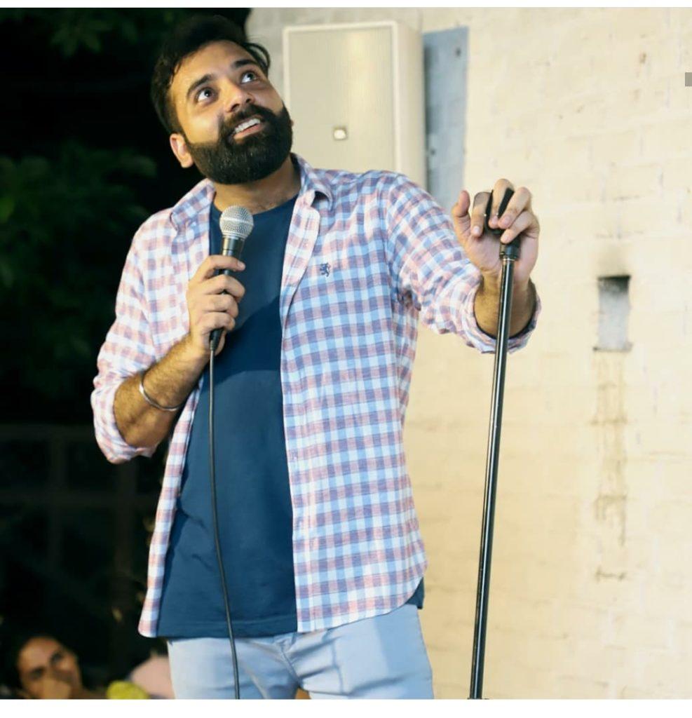 Comedian Anubhav Singh bassi
