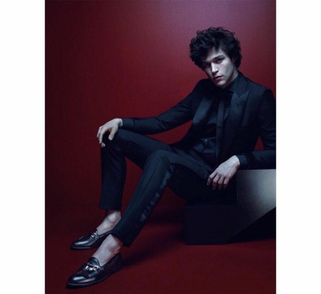 model Miles McMillan