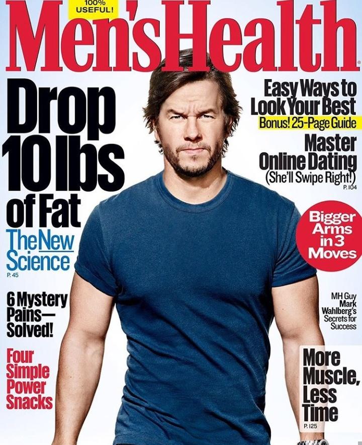 Mark Wahlberg's Men's health