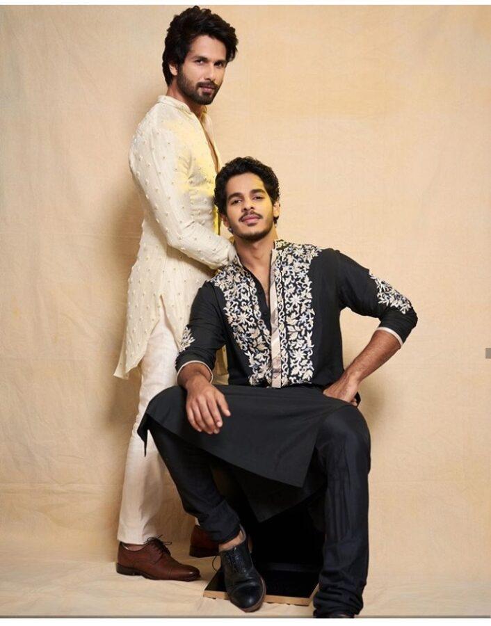 Ishaan Khattar with Shahid Kapoor