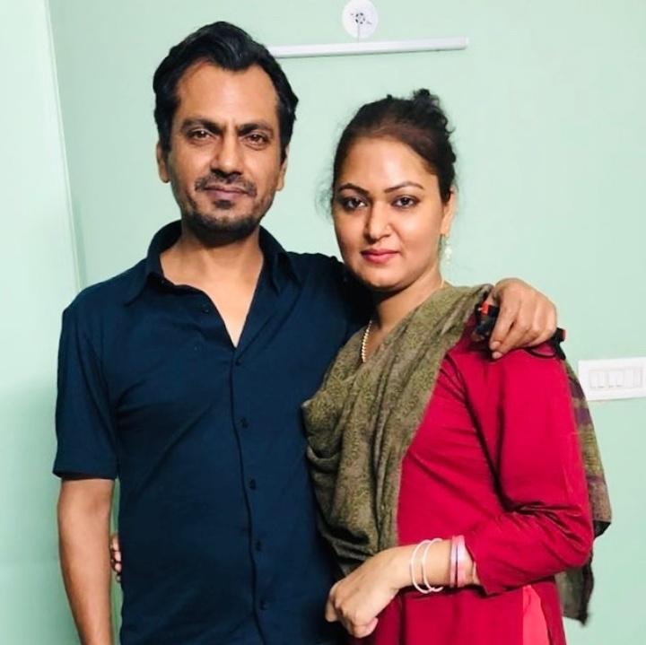Nawazuddin Siddiqui with wifr anjali
