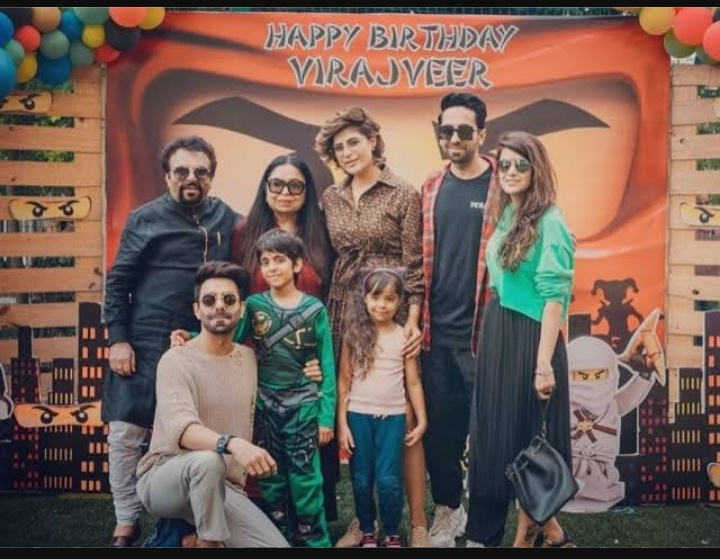 Ayushmann Khurrana' family