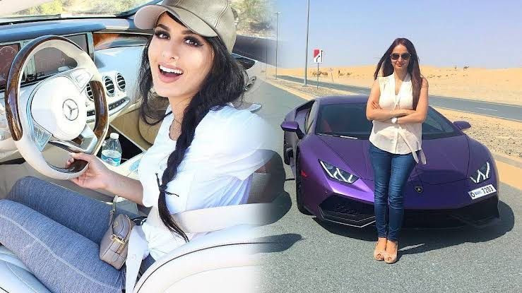 SSSniperWolf car collection