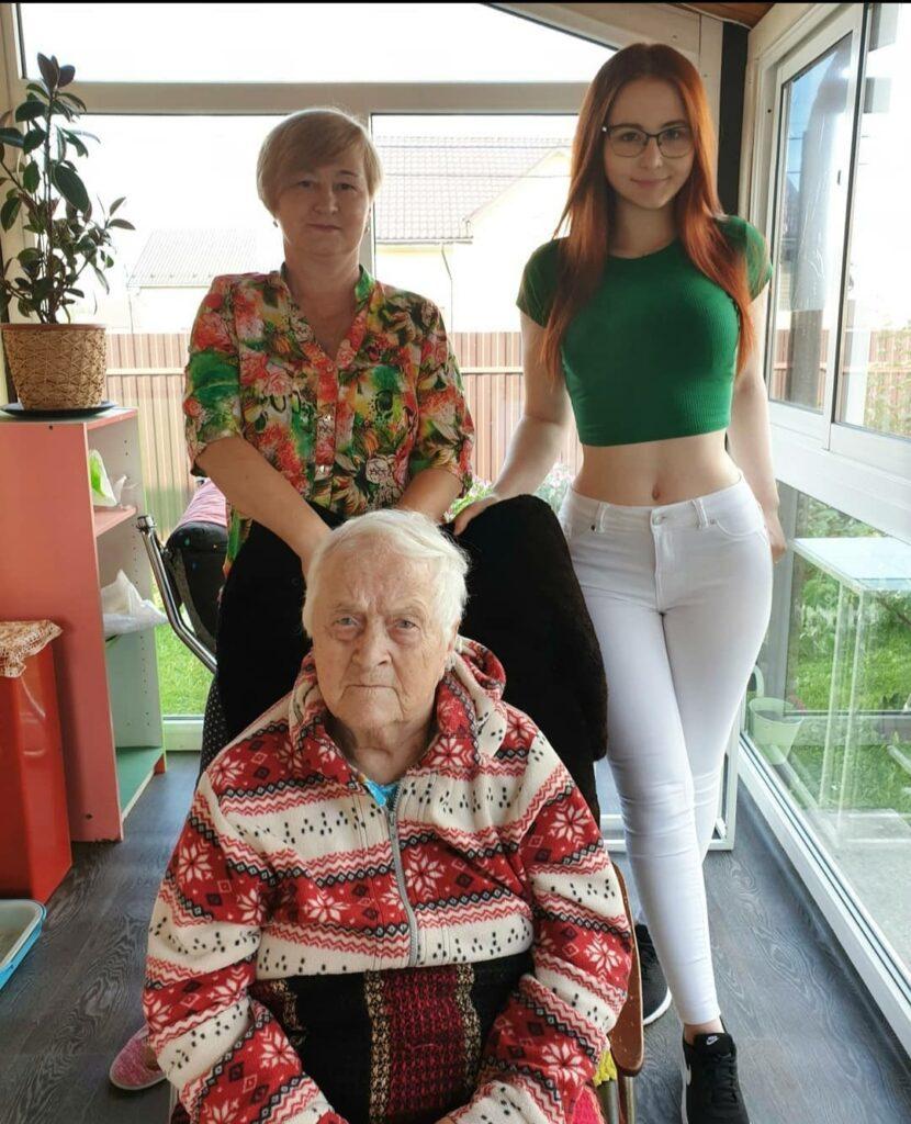 Vladislava Shelygina family