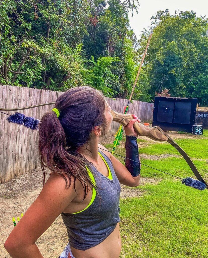 Jennifer Delaney archery